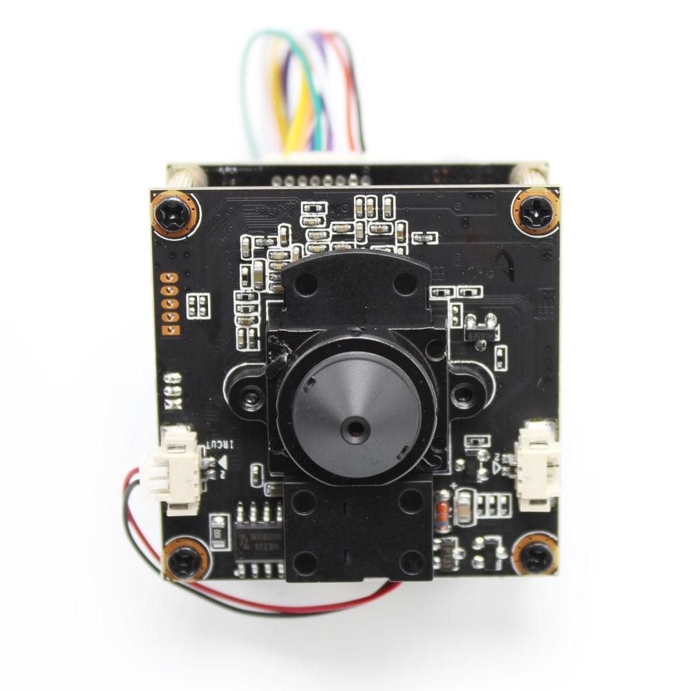 H.265 POE DIY IP Camera module Board with pinhole 3.7mm Lens IRCUT Hi3516E 1080P IPC Indoor Camera Mobile APP XMEYE ONVIF