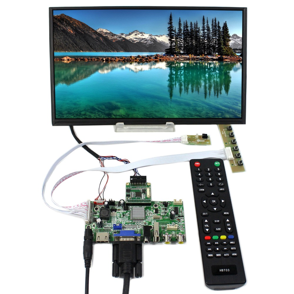 HDM VGA 2AV USB LCD Controller Board With 11.6inch 1920x1080 M116X40 EDP LCD Screen vga hdmi lcd controller board for lp156whu tpb1 lp156whu tpa1 lp156whu tpbh lp156whu tpd1 15 6 inch edp 30 pins 1 lane 1366x768
