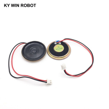 2pcs/lot New Ultra-thin speaker 4 ohms 2 watt 2W 4R speaker Diameter 40MM 4CM thickness 5MM with PH2.54 terminal wire length 15C 2pcs lot new ultra thin speaker 8 ohms 2 watt 2w 8r speaker diameter 30mm 3cm thickness 5mm with 1 25mm terminal wire length 10c