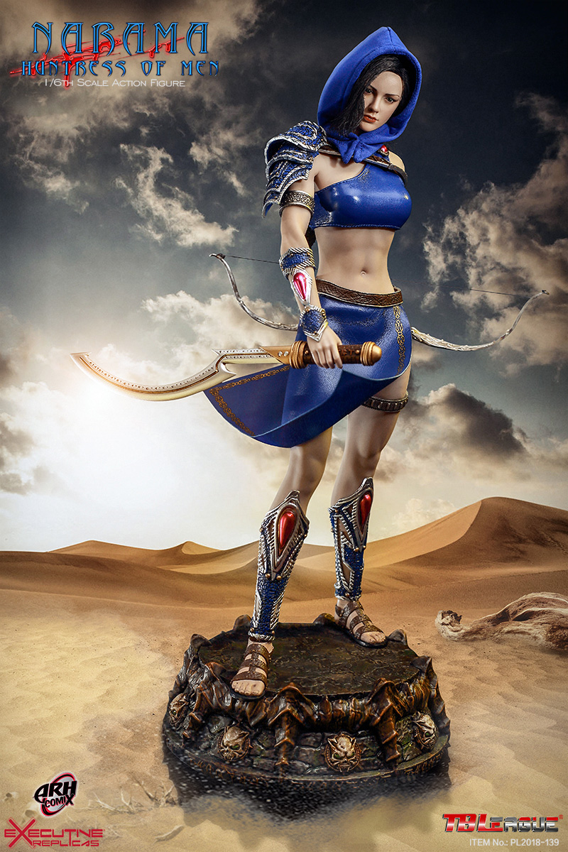 Feet with Shoes for TBLeague PL2018-139 NARAMA Huntress of Men 1//6th Scale 12/'/'
