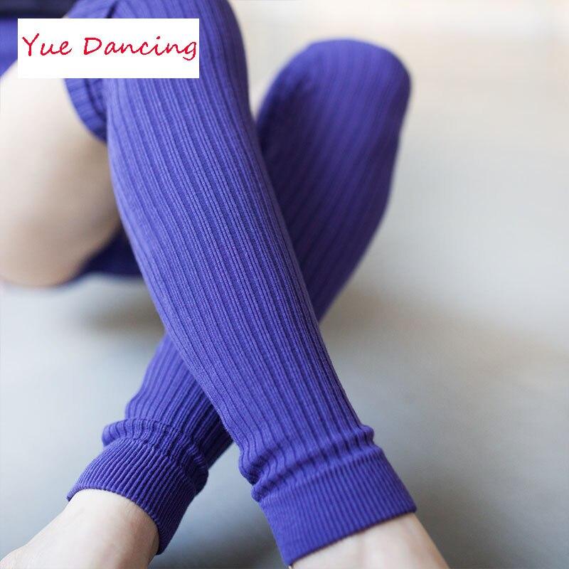 Ballerina Volwassenen Winter Beenwarmers Gebreide Leggings Warmers Voor Dance Vrouwen Beenwarmers Meisje Lange Latin/ballet Dans Sok Zwart Gebruiksgoederen