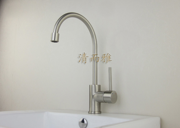 All copper faucet brushed clean and elegant models 8304 KITCHEN faucet manufacturers, wholesale