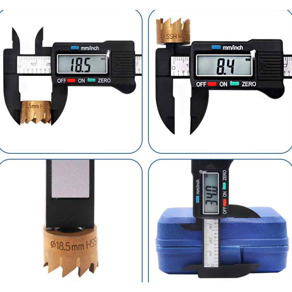 0-150mm Electronic Digital Calibrator Plastic Digital Graphics for Accurately Measured