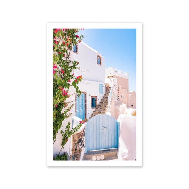 Poster Greek Landscape Mawgie