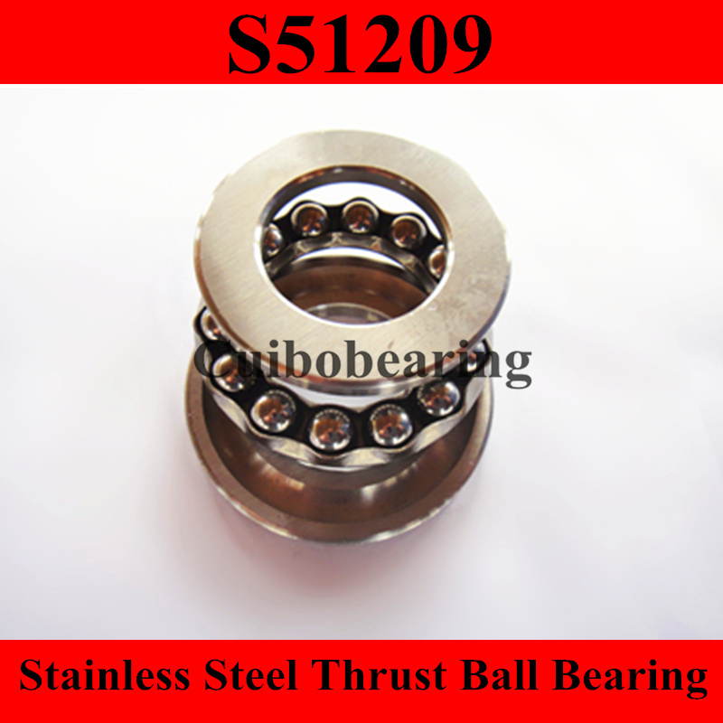 S51209 stainless steel thrust ball bearing size:45x73x20mmS51209 stainless steel thrust ball bearing size:45x73x20mm