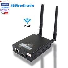 LX6000WF H.264 HD Беспроводной Wi-Fi HDMI видео кодировщик H264 кодирующее устройство телевидения по протоколу Интернета потоковая трансляция в прямом эфире HDMI видео Запись RTMP сервер