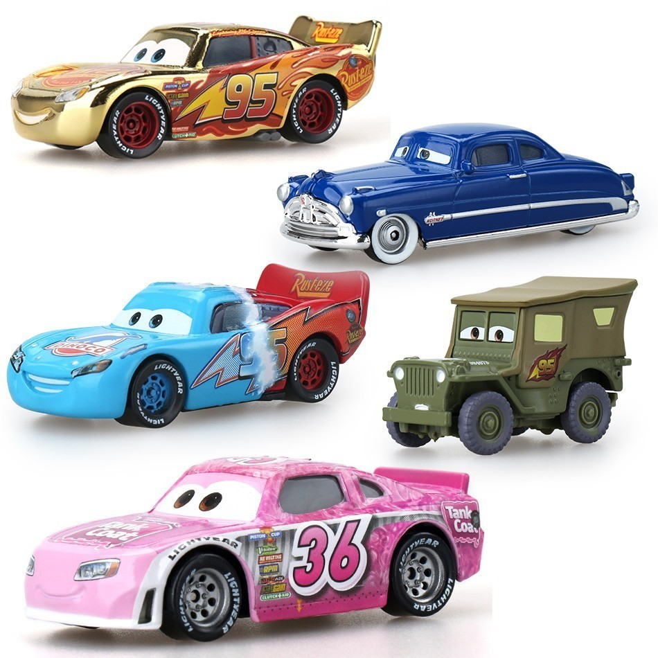 Cars Disney Pixar Cars Snot Rod Dj Wingo Metal Diecast Toy Car 1:55 Loose Brand New Arrivals In Stock Baby Toys 0-12 Months