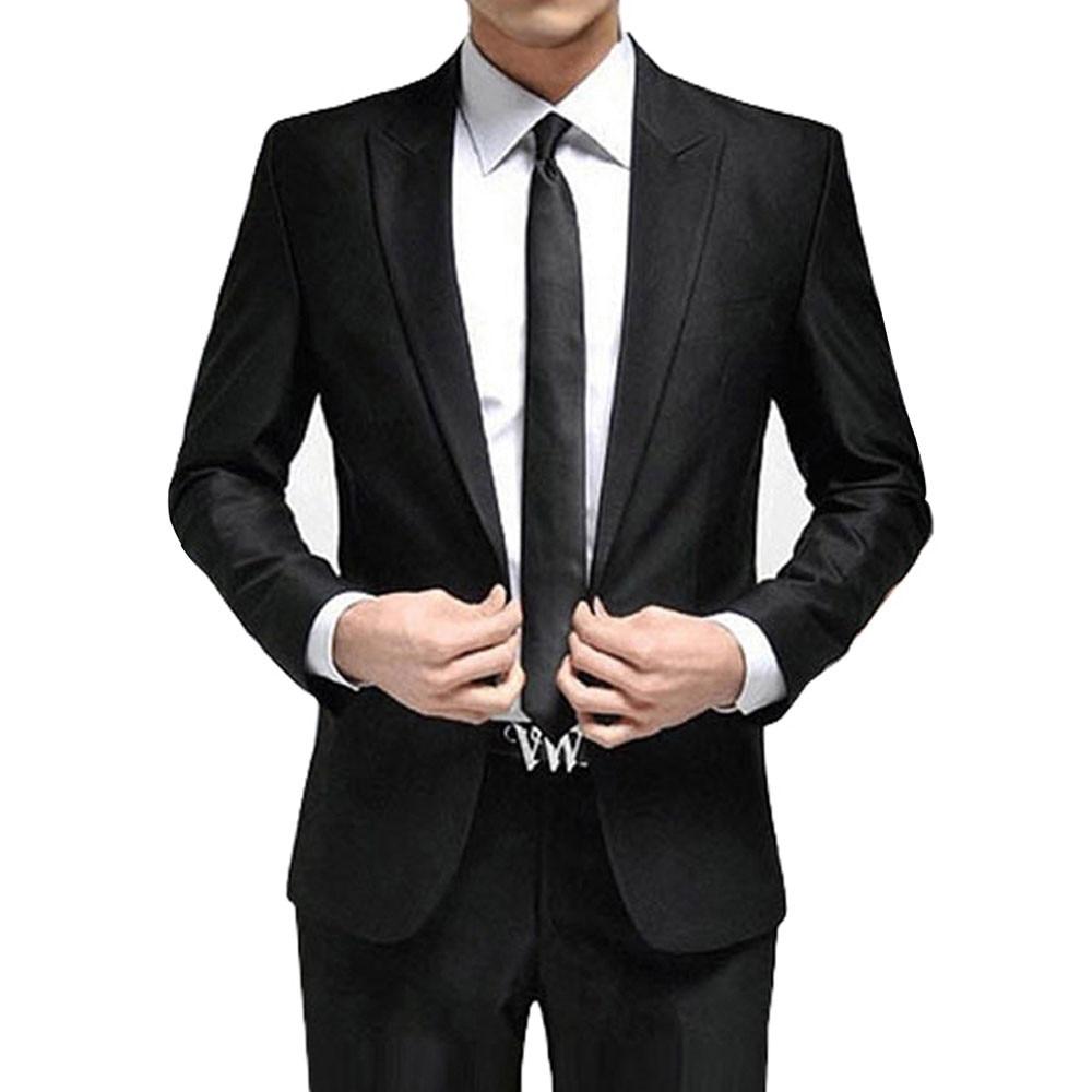 Slim chaqueta Negocios De Esmoquin caqui gris Para Shown Boda marfil Novio  negro brown Beige Moda ... f4b25bcf02e
