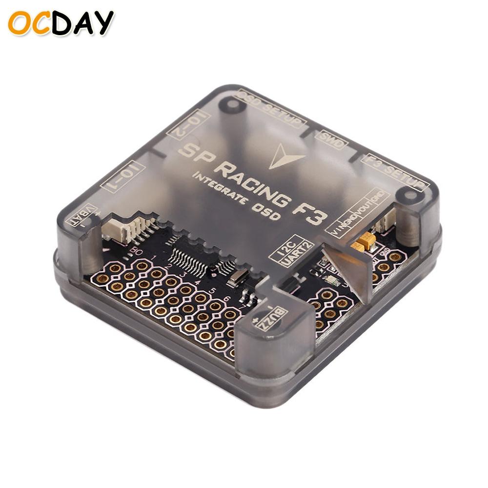 1pcs OCDAY SP Racing F3 Acro/DELUXE Flight Controller Integrated OSD for Racing Quadcopter rc helicopters toys spracing f3 acrd acro sp3 racing f3 flight controller board aircraft fpv quadcopter speed control for ocday