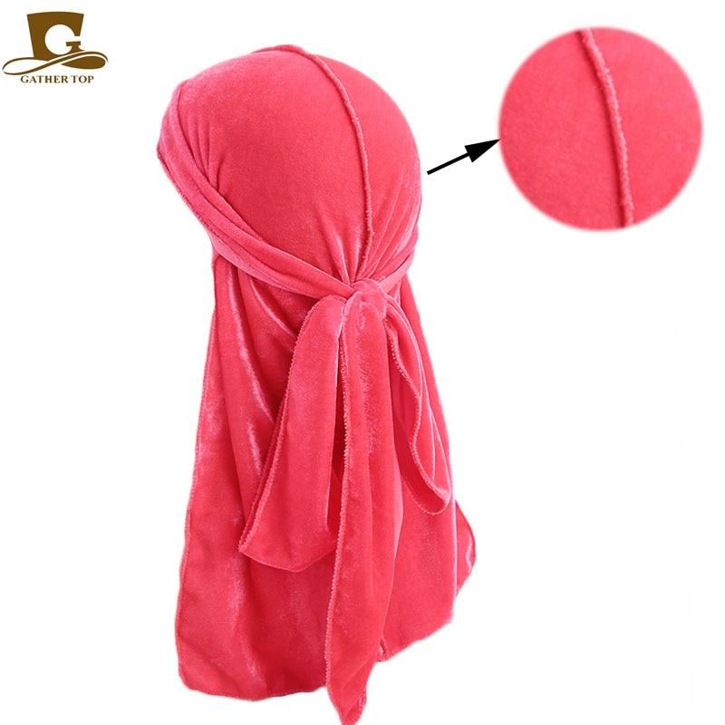 Unisex Hombres Mujeres Transpirable Bandana Sombrero de terciopelo - Accesorios para la ropa - foto 4