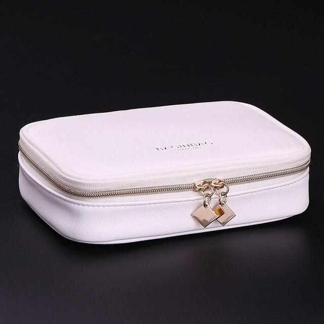 High Quality Portable Cosmetic Bag Women Jewelry Storage bag Travel Organizer