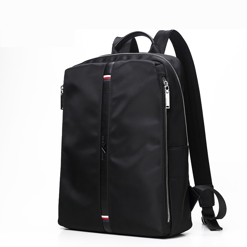 Fashion Student Laptop Travel Men Black Backpack School Bags for Men Business Affairs Work Package