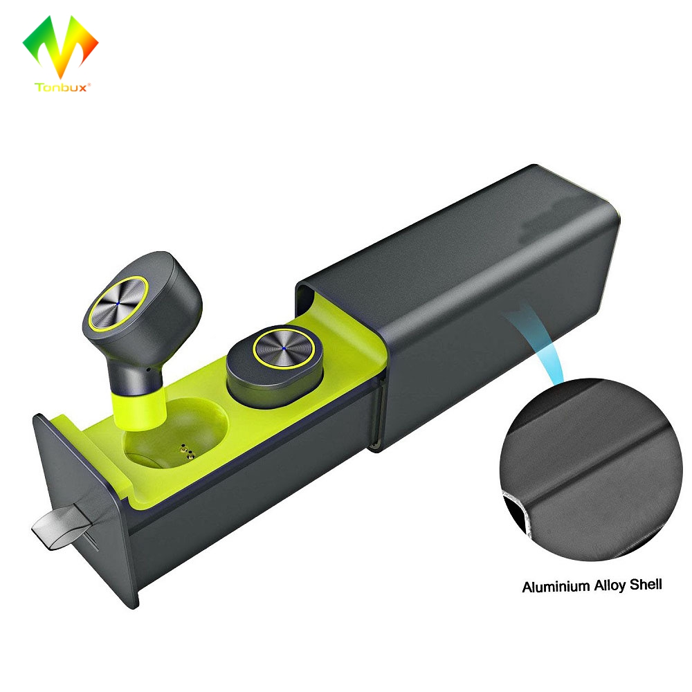 Tonbux Wireless Earphones Bluetooth Headset GW10 True TWS V4.2 Earbuds Magnetic Charger Box Earphone for Iphone/Android new dacom carkit mini bluetooth headset wireless earphone mic with usb car charger for iphone airpods android huawei smartphone