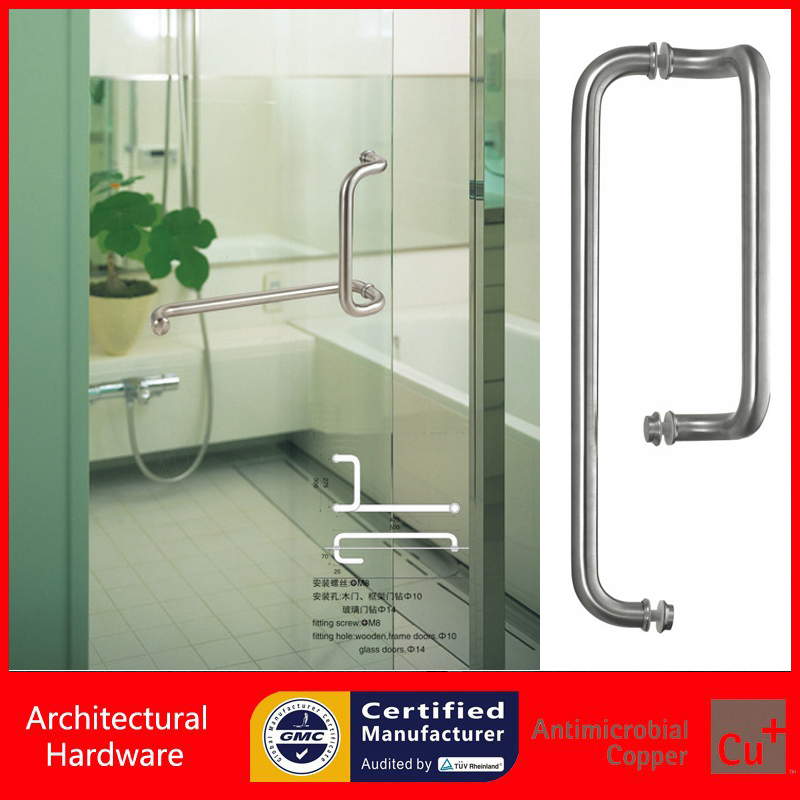 304 Grade Stainless Steel Pull Handle Entrance Door Handles Available For All Kinds Of Doors Pa 623 25 300 500mm In From Home Improvement On
