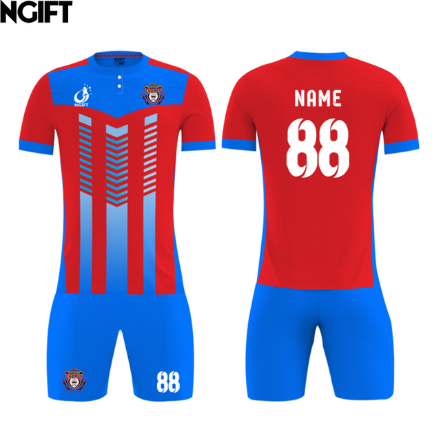4a50b7ea049 Ngift 100%polyester,fully sublimation custom soccer jersey,MOQ 1pcs,anyand  color