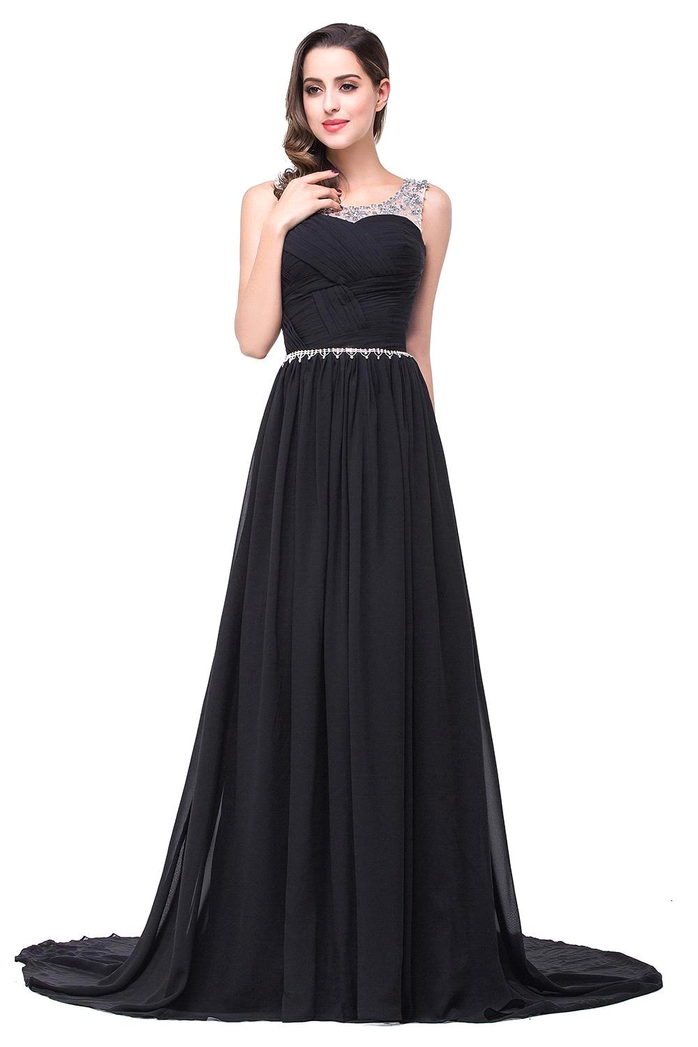 Online Get Cheap Black Evening Gown Dresses -Aliexpress.com ...