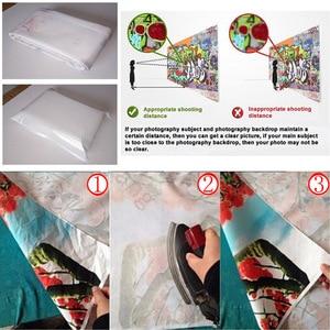 Image 5 - Fiori plancia di legno fondali foto panno di vinile sfondi per gli amanti san valentino matrimonio fotofono fotografia puntelli
