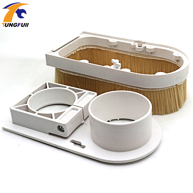 Image 5 - Engraving machine vacuum cover accessories plastic adsorption nut woodworking removable dust cover dust cover engraving machine-in Woodworking Machinery Parts from Tools