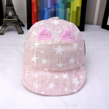 Stars and Whiskers Baby's Baseball Cap
