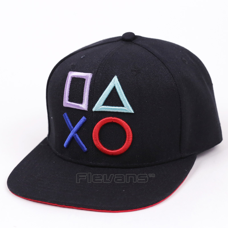 Cool Fashion Men Brand Snapback Caps PlayStation Creative Design Adjustable Cotton Hip Hop Baseball Cap Hats комплекты белья let s go комплект майка трусы боксеры