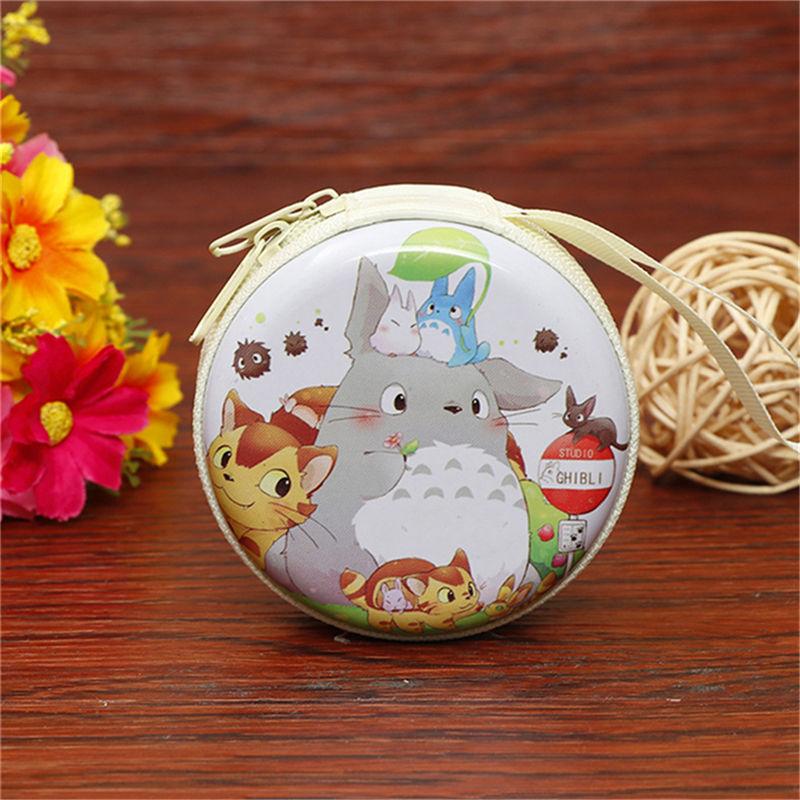 Лидер продаж, кошелек для монет с героями мультфильмов, Эльза, Анна, принцесса, чехол для ключей для девочек, кошелек, детский Снежная королева, гарнитура, сумка для монет - Цвет: Totoro 3