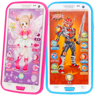 Kid Toy Cellphone Mobile Phone Touch Screen Smart Phone Baby Mobile Early Educational Learning Toy Child Music Electronic Phone