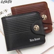 Mens wallet Fashion 2019 Wallet with Coin Bag Zipper Small Money Purses New Design Dollar Slim Purse Clip 480