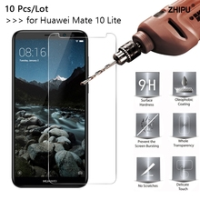 10 Pcs/Lot 2.5D 9H Premium Tempered Glass For Huawei Mate Lite Screen Protector Toughened protective film