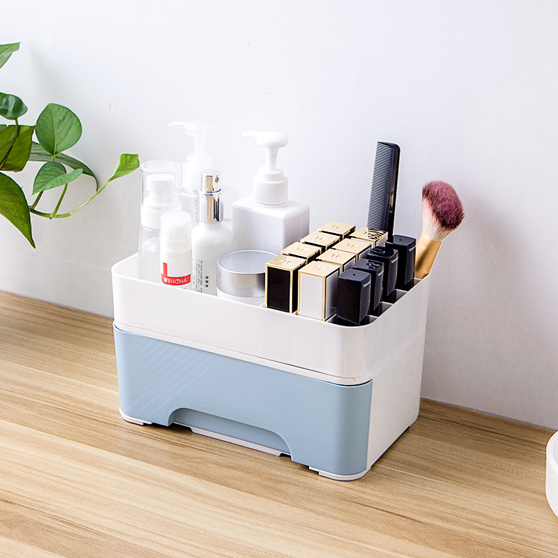 050 Fashion Minimalist drawers 14 cases storage boxes cosmetic lipstick rack Cosmetic box 22 3 14 12 5cm in Makeup Organizers from Home Garden