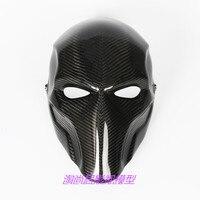 Зеленая Стрела маска из углеродного волокна Полная маска для лица новый дизайн страйкбол CS Спортивная маска и косплей Хэллоуин