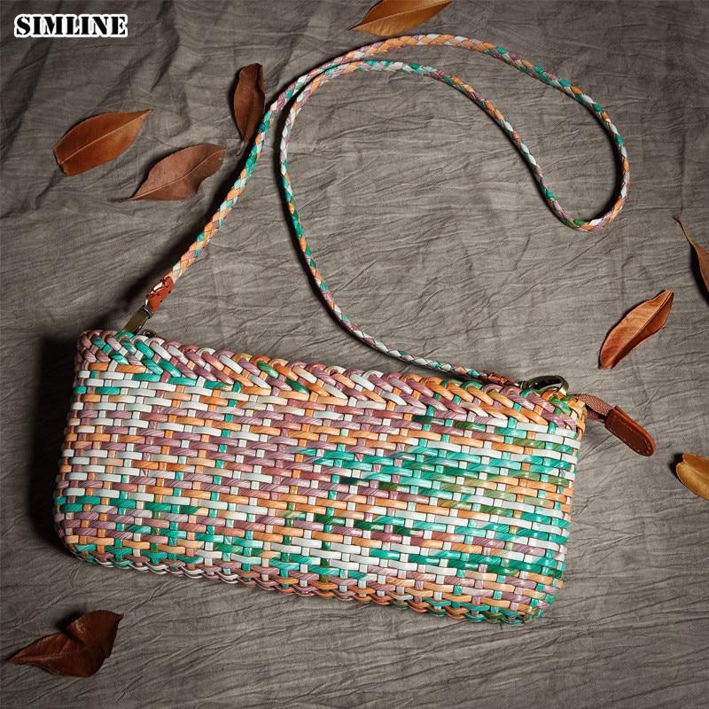 Luxury Brand Designer Genuine Leather Cowhide Women Small Mini Handbag Shoulder Messenger Crossbody Bag Clutch Bags For Ladies
