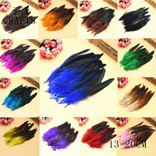 New! Natural 20 pc quality pheasant feather, 5-8 / 12-18cm DIY decoration accessories, weddings, family