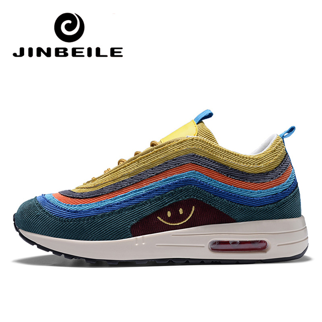 dd111e10824f Latest Men Sneakers Brand Spring Autumn Rainbow Running Shoes for Man Air  Shoe Sports 97 Male Scarpe Uomo Sportive Trainers