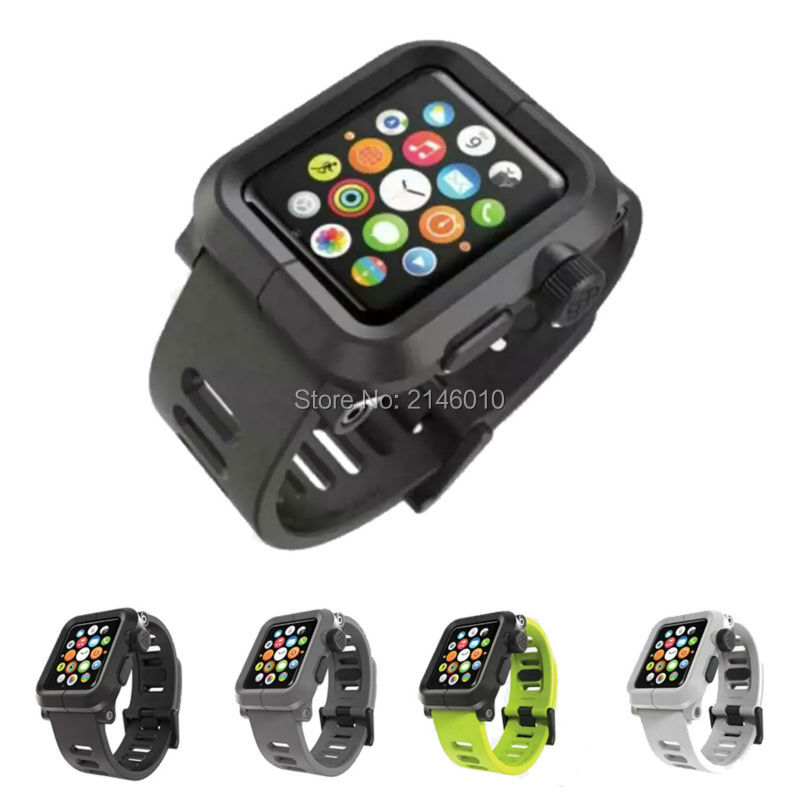 NEW LUNATIK EPIK Polycarbonate - Silicone Band For Apple Watch Case 38MM 42MM Series 1, Series 3/2