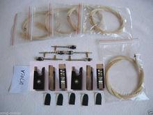 4/4 violin bow horse hair ,Ebony frog,bow part High quality 10 set