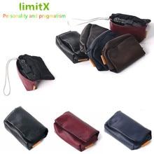 PU LEATHER Camera Soft Case Capa Bag para Panasonic Lumix DC TZ90 TZ90 TZ91 TZ80 TZ81 TZ70 TZ60 TZ57 TZ50 TZ40 TZ30 TZ20 TZ10