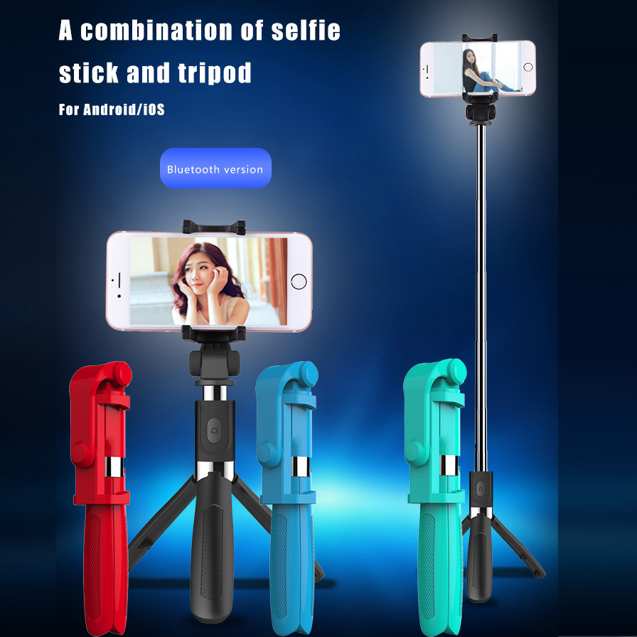 Selfie Stick Tripod Bluetooth Shutter Fit For iPhone For Samsung For Android/IOS May15