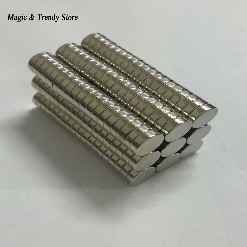 10 Pieces/Lot  8mm x 3mm Neodymium Magnets N50 Magnet Craft Model Aimant 10 pieces lot sps hi14