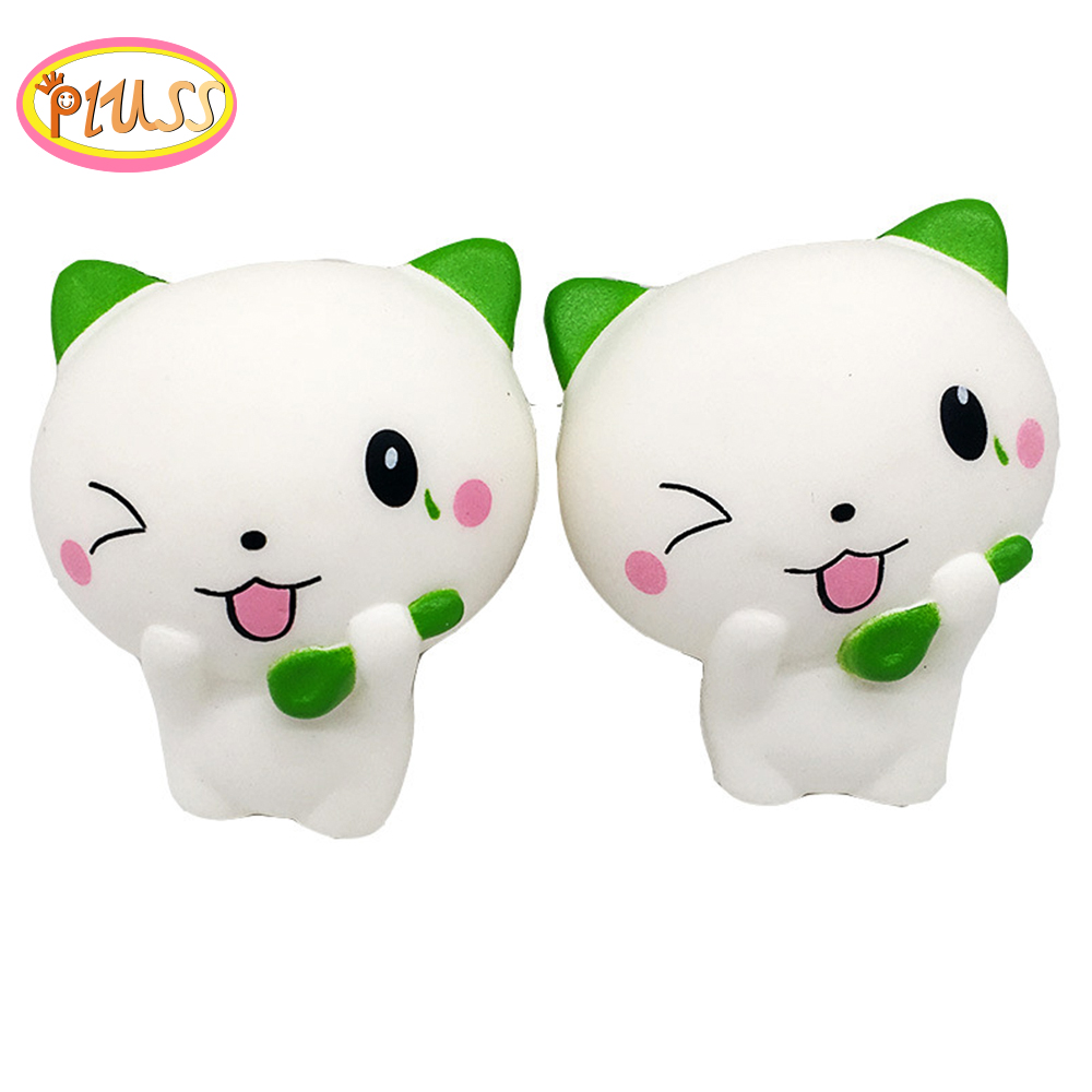 Jumbo Soft And Slow Squishy Scented Cute Cat Squishy Slow Rising Squishies Scuishi Kawaii Squishies Sqeeze Toy Drop Shipping