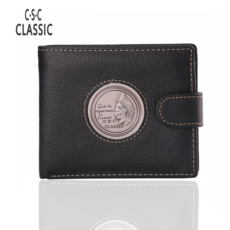 Men's Organizer Wallets Genuine Leather Vintage Short Mens Wallet Men Cowhide Purse Practical Coin Pocket High-Quality Capacity high quality men genuine leather organizer wallet vintage cowhide clasp card holder coin purse vintage carteira masculina 1011