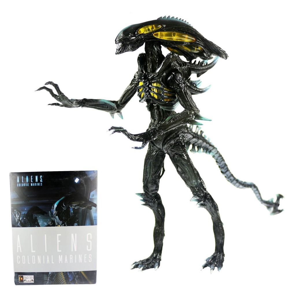 NEW Aliens Colonial Marines Spitter 23cm 9 PVC Statue Figure New In Box Free Shipping мозаика l antic colonial frame brick dark 10x20 28 5x31 1