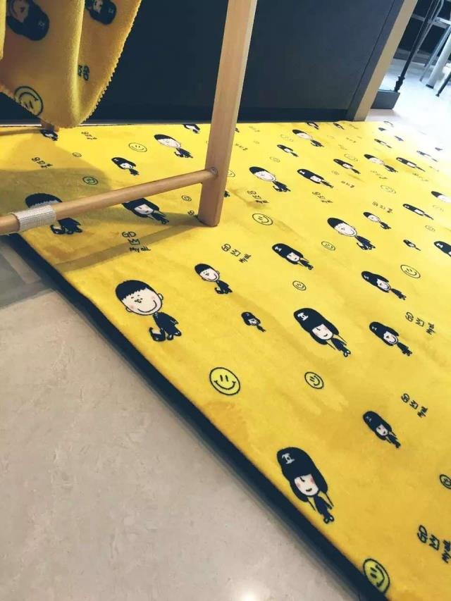 2016 mode luxe marque g-dragon Tapis pour salon chambre Tapis antidérapant lavable Yoga Tapis jeu ExceriseBay fenêtre Tapis