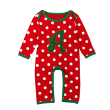 Autumn Baby Rompers Christmas Boy Clothes Newborn Clothing Cotton Girl Infant Jumpsuits 3-18M