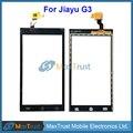 """5 Pçs/lote Top Qualidade 4.5 """"para JIAYU G3 G3S G3C G3T JY-G3 Touch Screen Digitador Sensor de Vidro Do Painel Frontal de Cor Preta"""