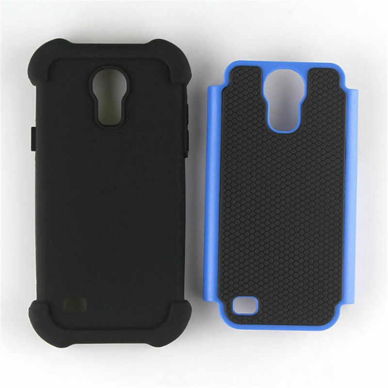 S4mini الكرة الحبوب البلاستيك درع غطاء مقاوم للصدمات لسامسونج غالاكسي S4 mini I9190 I9192 I9195 الهجين غطاء