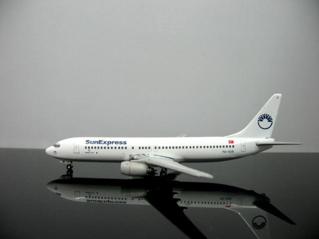 Специальное предложение из печати StarJets 1: 500 Turkish Airlines 737 TC-SUB сплава модели самолетов Избранные Модели