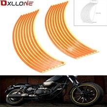 Strips 17inch/18inch wheel Motorcycle Wheel Tire Rim Stickers for Kawasaki Yamaha Suzuki sv650 sv650s 1999 2009 sv 650 650 s