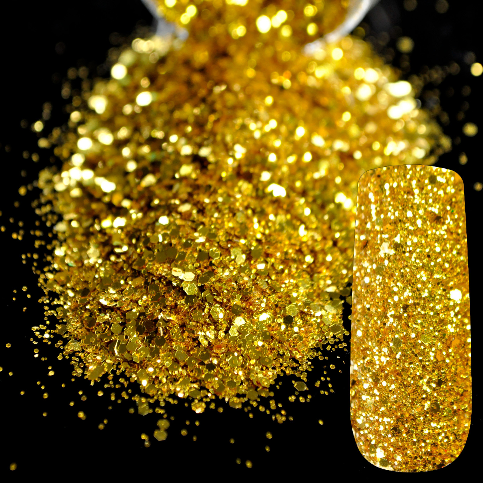 how to make gold size