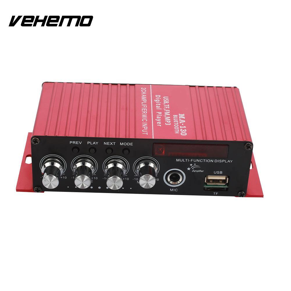 Vehemo 20W*2 Bluetooth Power Amplifier Car Wireless Bluetooth Amplifier Home Blu