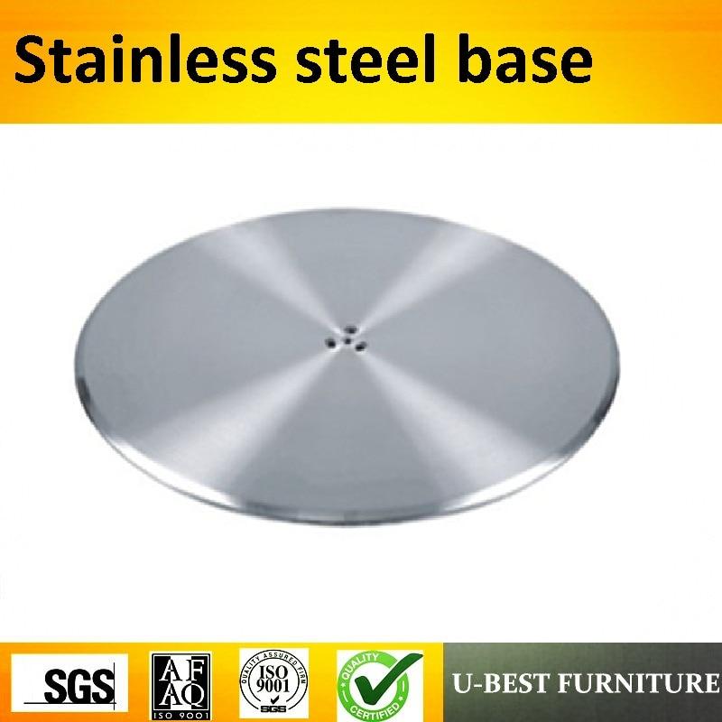 hardware nejlépe - U-BEST industrial produce stainless steel furniture hardware round table base